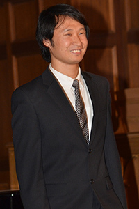 Mr. Weicheng Zhao, winner of our first organ competition